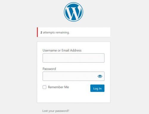 WordPress oldal biztonság